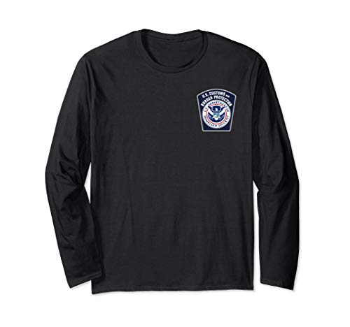 US Customs and Border Protection CBP Security Patrol Long Sleeve T-Shirt