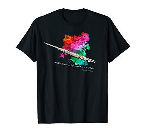 Querflöte Musiker Orchesterprobe T-Shirt