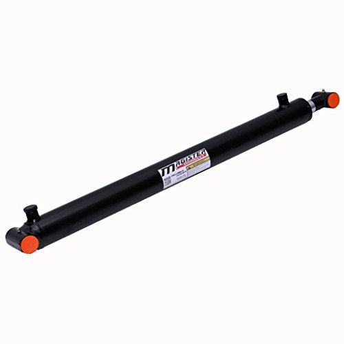 Hydraulic Cylinder Welded Double Acting Cross Tube (2.5x36)