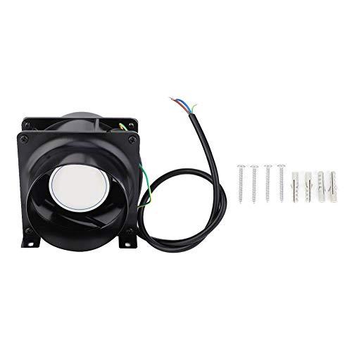 Conducto del ventilador, ventilador de conducto en línea de 4 pulgadas Ventilador Extractor de ventilación para taller Biblioteca Cine AC 200-240V, 50/60HZ, 2700RPM