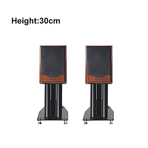Affordable Speaker Stands, With Hidden Wire Channel And Shockproof Copper Nails, Filled With Sand De...