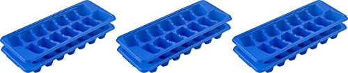 Sterilite Blue Stacking/Nesting Ice Cube Trays (Pack of 6)