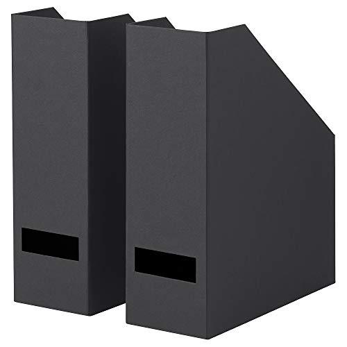 Stehsammler schwarz 2er Pack, zusammengebaut Größe Breite: 10 cm Tiefe: 25 cm Höhe: 30 cm Verpackungsmenge: 2 Stück, Materialien chlorfrei gebleicht