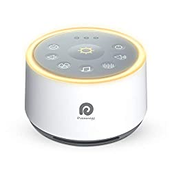 White noise sound machine that is helpful when transitioning to toddler bed.