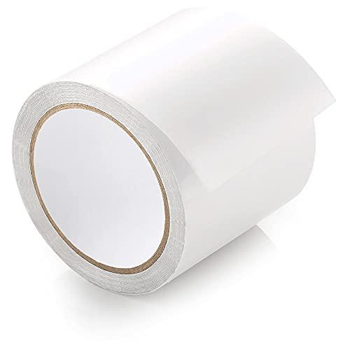 ecooe Zelt Klebeband 10M x 8CM Zelt Klebebänder Reparaturband Transparent wasserdichte Professionell geeignet für PVC-beschichtetes Zelt markisen Pavillon Flicken