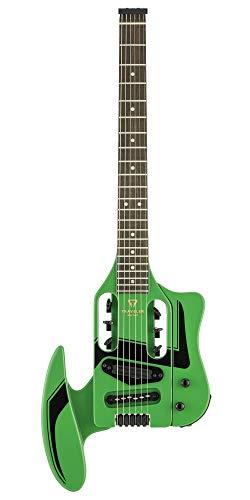 Traveler Guitar 6 String Solid-Body Electric Guitar, Right, Daytona Green (SPD DG)