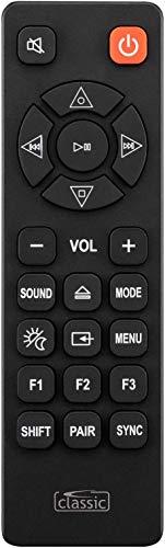 Ersatz Fernbedienung passend für Soundbars Sony RMT-AH102U/ HT-XT100 selbstverstänlich mit Bedienungsanleitung