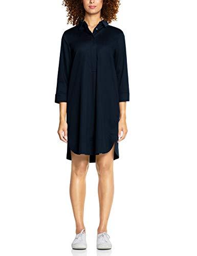 Street One Damen 142526 Kleid, Blau (deep Blue 11238), (Herstellergröße:42)