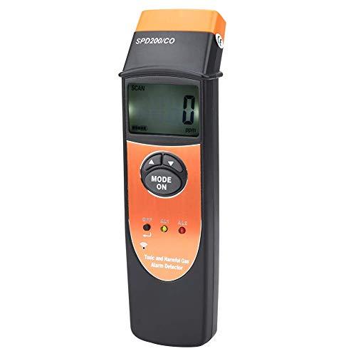 Hyy-yy. CO-Gas-Detektor, SPD200 Digitalanzeige CO Kohlenmonoxid-Detektor-Meter Prüfvorrichtung-L-EAK-Detektoren