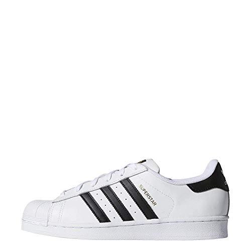 adidas Originals Women's Superstar W Shoe, FTWR White/Core Black/FTWR White, 9.5 M US