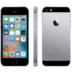 国内版SIMフリー iPhone SE 64GB スペースグレイ MLM62J/A