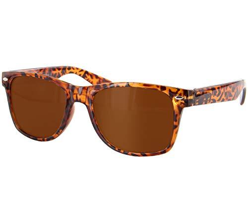 Alsino Sonnenbrille Madonna Blues Brothers Brille 816 braun