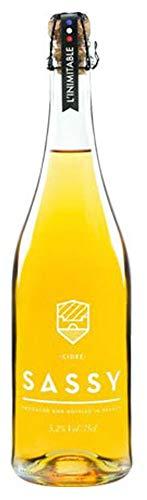 シードル SASSY 【りんごのお酒】ノルマンディー産 高級シードル Cidre SASSY (アルコール度数5.2%)りんご「22種類」をブレンド