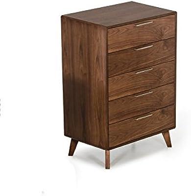 Major-Q Contemporary Rustic 2 Drawer Nightstand Natural Finish B078JW7D8H MQ-97262