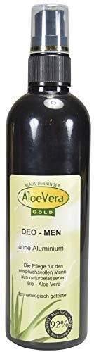 Aloe Vera Gold Deo Spray for Men, 200 ml