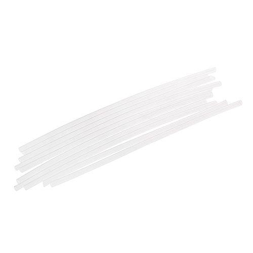 Festnight 10pcs Angeln Rig Schrumpfschlauch aus Gummi Länge von 98mm Karpfen Rig Schlauch Shrink Tube Angeln Zubehör für Karpfenangeln