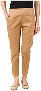 ALIYAA Trousers/Pencil/Cigarette Pant for Women's & Girl's (Pack of -1)