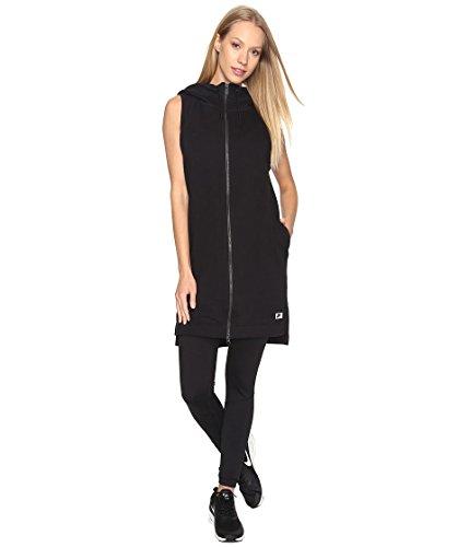 Nike W NSW Modern Vest FZ Fitness Vest voor dames, zwart (zwart/zwart), S