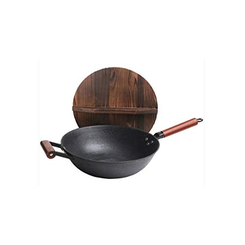 SMEJS Piedra Pot, antiadherente Olla, no graso cocina de inducción, Cocina de gas, Wok, Wok, Cocina Pot