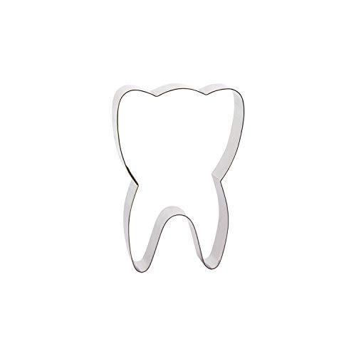 Cutter Sweet 1 Keksausstecher Zahn | aus Edelstahl | Zahnfee | Für Kekse, Marzipan, Fondant