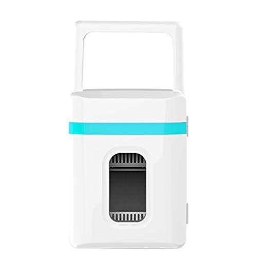HANYF Mini Refrigerador 10L Refrigerador Personal Compacto Refrigeración Y Calefacción Portátil, Muy Adecuado para Dormitorio, Oficina, Automóvil, Refrigerador Cosmético Portátil