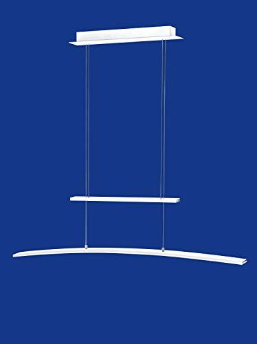 dimmbare deutsche LED Pendelleuchte Höhenverstellbar Weiss Dimmbar 2375 Lumen [Energieklasse A]