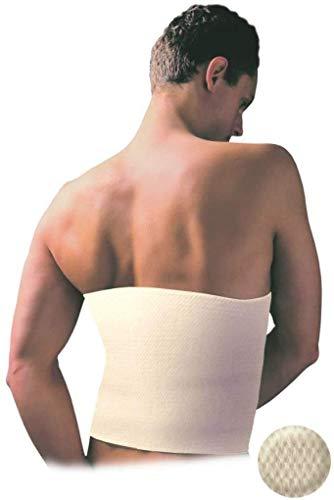 Deluxe–Calentador de espalda, angora y lana de merino, protección térmica, cinturón térmico