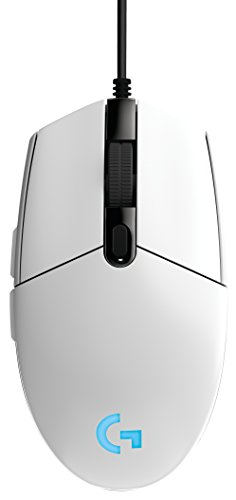 Logitech G203 Prodigy RGB Wired Gaming Mouse – White