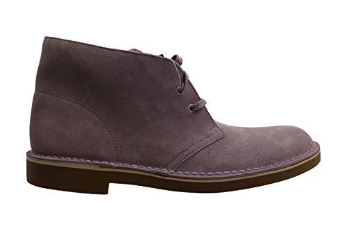 Clarks Mens Bushacre 2 tela cerrada dedo del pie tobillo moda botas, Rosa (Mauve), 41.5 EU