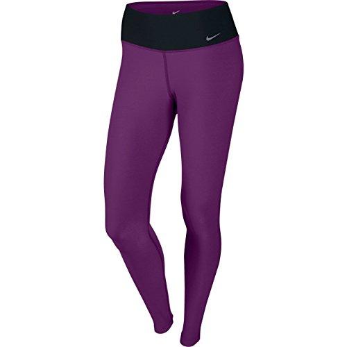 Nike Legend 2.0 ti Poly - Pantaloni da donna, taglia XS, colore: Grigio/Nero