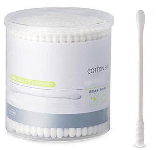 Cotons-tiges de sécurité 200 pièces Coton-tige à double pointe Bâtons de nettoyage polyvalents #25