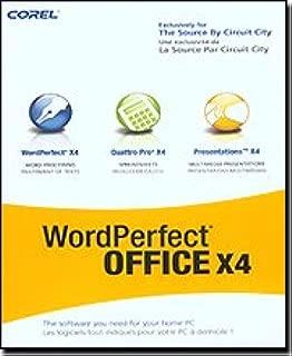 Corel WordPerfect Office X4