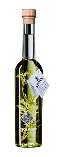 Roner Grappa alla Ruta (1x 0,5l) - Grappa alle Erbe Distilleria Artigianale Alto Adige Südtirol piu premiata d Italia - 500 ml