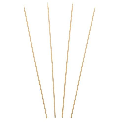 Royal Pique Brochette en bambou, Pour viandes grillées, brochettes de légumes, 30 cm, Lot de 800