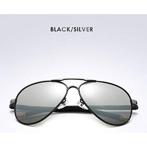 CAGSQ Sonnenbrillen Sonnenbrille Polarisierte Sonnenbrille Männer Frauen Klassische Retro Pilotenbrille Polaroid Gläser Driving Sun Glasses