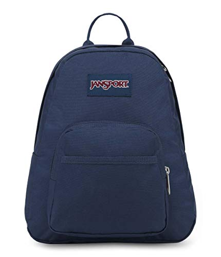 Jansport - Half Pint, Mini Backpack - Navy Blue, One Size.