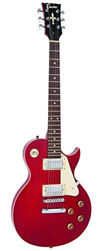 Encore eléctrico guitar-p, rojo vino