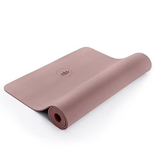 Lotuscrafts Thrive Yogamatte rutschfest & gelenkschonend - Made in Spain - 100{7c62db09302e19339c9659a1a0ef39fc241dada2834b7193fa023955f676bbb1} CO2 Neutral - Yoga Matte aus EVA Schaumstoff für hohe Dämpfung - Yoga Mat - Rutschfeste Matte für Yoga 185 x 60 cm