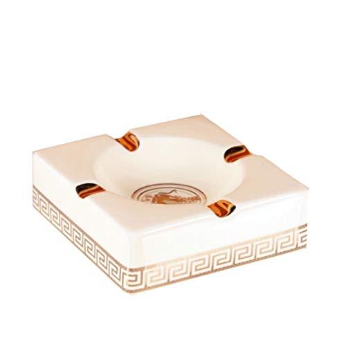 ZWS Aschenbecher Europäischen Keramik Aschenbecher Große Mode Persönlichkeit Wohnzimmer Dekoration Geschenk Tisch Aschenbecher Wohnaccessoires