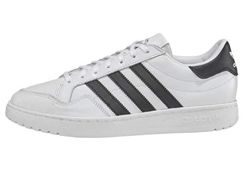 adidas Team Court, Scarpe da Ginnastica Uomo, Ftwr White/Core Black/Ftwr White, 45 1/3 EU