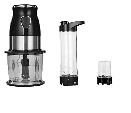 Juicer High Speed Multi Function 500W Food Processor Meat Grinder Portable Personal Mini Blender Mixer Juicer Dry Grinder 800ml Chopper WithExtragrindcup juicer machines LHAHGLY