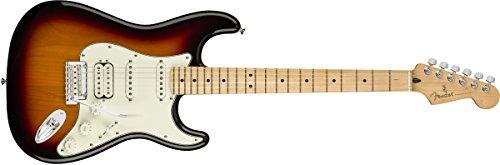 Fender Stratocaster E-Gitarre Ahorn Sunburst in 3 Farben