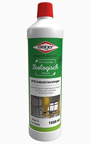 Geiger Chemie Nr. 18 Industriereiniger 1000ml Flasche