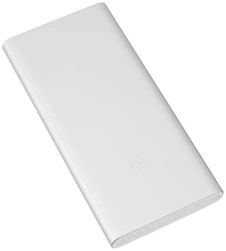 Xiaomi 10000mAh Mi Power Bank (Portabler Akku) Silber …