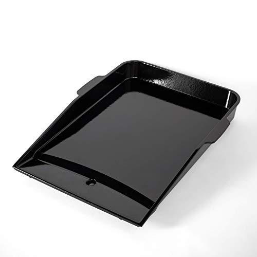 Weber 7665 Plancha Grillplatte, für Genesis II ab 300-Serie, schwarz