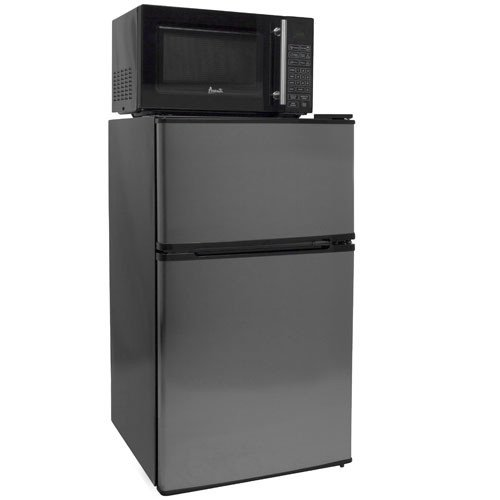 3.1 Cu. Ft. Compact Refrigerator, Freezer, and Microwave Combo