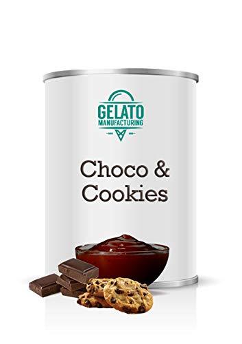 Choco Cookies - Cobertura de Chocolate con avellana y galletas de cacao...