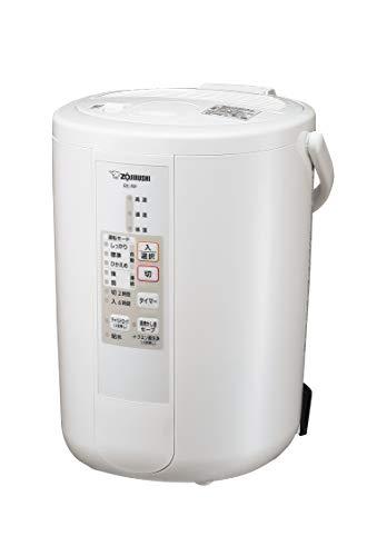象印 加湿器 3.0L 木造8畳/プレハブ洋室13畳対応 スチーム式 蒸気式 フィルター不要 自動加湿3段階 入タイマー&切タイマー搭載 お手入れ簡単 ホワイト EE-RP50-WA