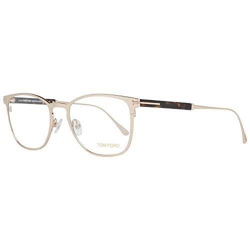 Eyeglasses Tom Ford FT 5483 028 shiny rose gold, Shiny Rose Gold, Shiny Dark...