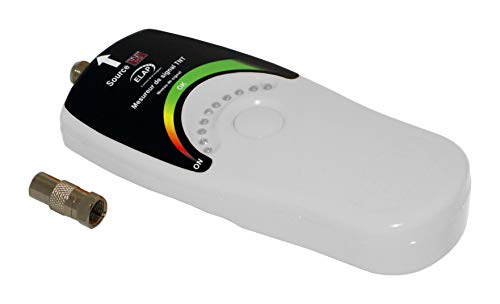 High-Tech 600050 Pointeur de signal pour Antenne TV TNT Blanc